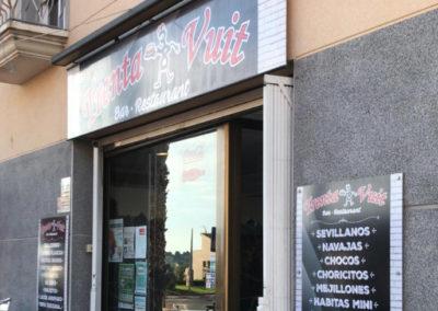 Rotulo Oblik Bar Restaurante