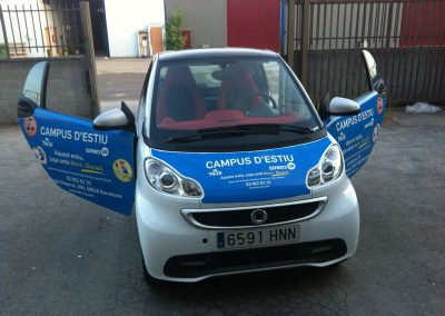 Rotulación corporativa de vehículos