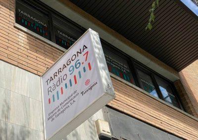 Rótulo exterior Radio Tarragona