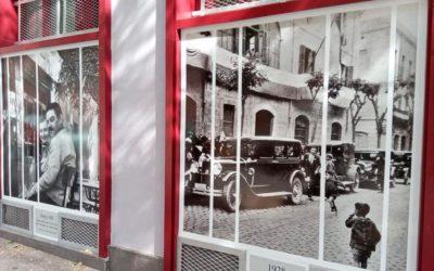 Rotulación de fotografías antiguas en bajos de Tarragona